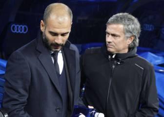 Guardiola vs Mourinho: así han sido sus 16 enfrentamientos