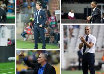 Seis grandes selecciones han cambiado de entrenador
