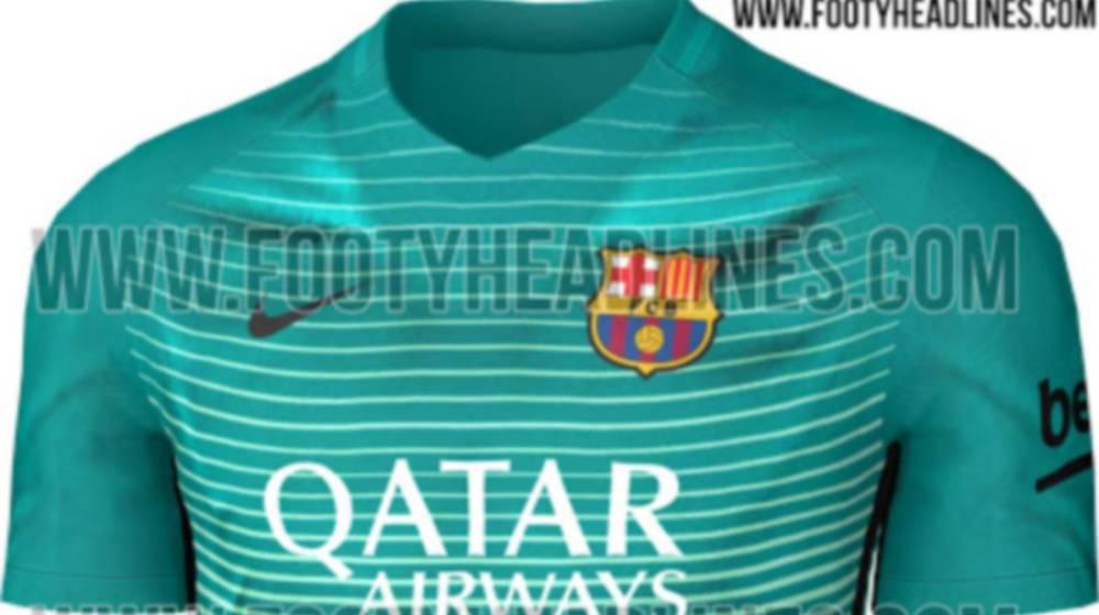 Barcelona ¿Será esta la tercera equipación del Barcelona  - AS USA 373315ada4fda