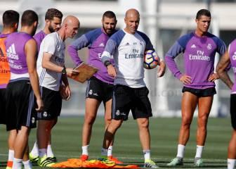Cristiano, Bale y Benzema se entrenan juntos 102 días después
