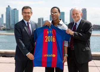 El Barcelona y Unicef celebran diez años de cooperación