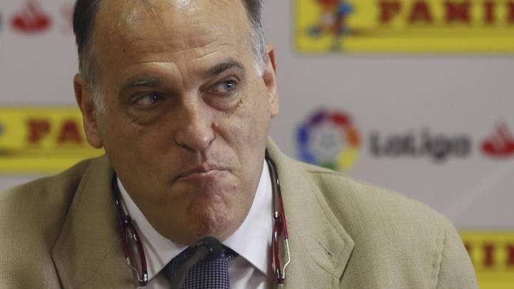 """Tebas: """"Villar tenía las mismas posibilidades de ser presidente que mi hijo de 5 años"""""""