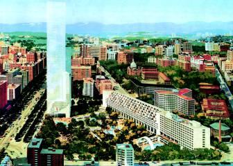 Bernabéu intenta cambiar el estadio por una torre (1973)