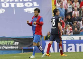 Giuseppe Rossi, un peligro constante para el Atlético