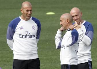Las 5 dudas que tiene que resolver Zidane ante Osasuna