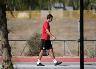 Dejan Lekic será baja un mes en el Mallorca por lesión