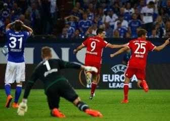 Lewandowski y Kimmich mantienen el pleno del Bayern