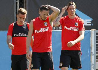 Simeone prueba a Griezmann, Torres y Carrasco para el Celta