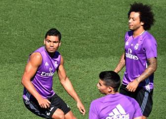 Descanso para James, Casemiro y Marcelo y Zidane cita a su hijo