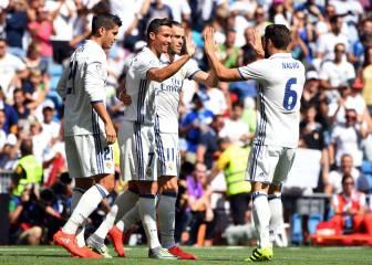 Real Madrid 5 - 2 Osasuna: resumen, resultado y goles