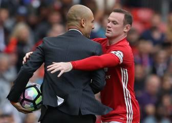 Guardiola hizo con Rooney lo mismo que con Cristiano