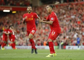 El Liverpool golea al Leicester