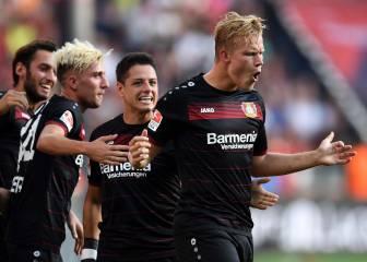 Pohjanpalo da la victoria con un hat-trick para el Leverkusen