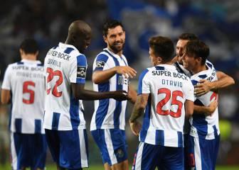 El Oporto se da un festín (3-0) a costa del Guimaraes