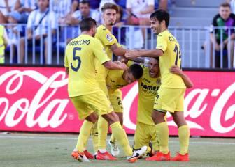 El Villarreal encuentra el 'maná' del gol en La Rosaleda