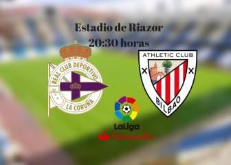 Deportivo 0 - 1 Athletic: resumen, resultado y goles