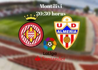 Girona vs Almería en vivo y en directo online: Jornada 4 de la Liga 1|2|3