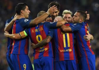 Barcelona-Celtic en imágenes