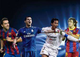 ¿Quién está en el XI con más partidos en la Champions?
