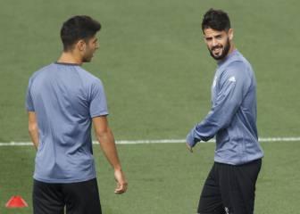 Zidane deja fuera de la convocatoria a Isco y Asensio