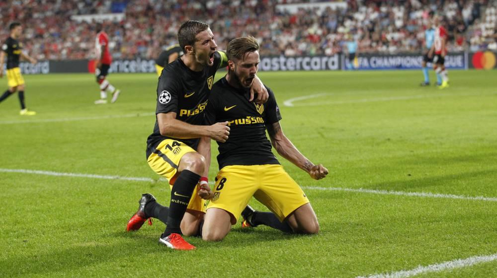 Saúl y Oblak fulminan al PSV