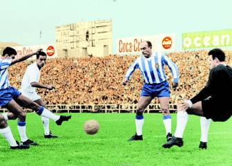 Di Stéfano se enfrenta al Madrid (1964)