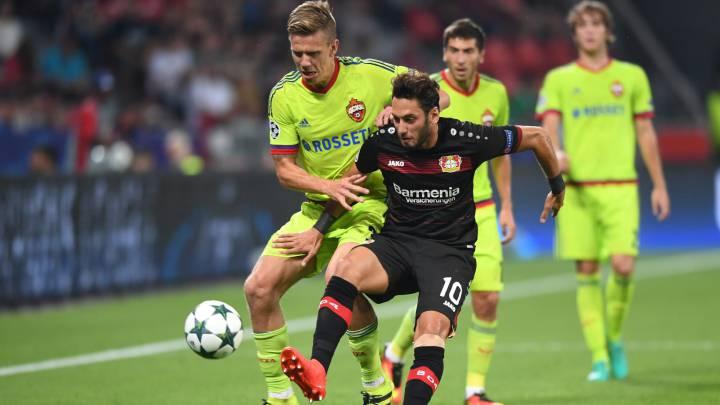 El CSKA sabe sufrir y araña un punto al Leverkusen