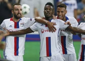 El Lyon ya es líder de su grupo tras arrancar con una goleada