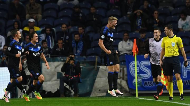 Otàvio marcó para el Oporto y Cornelius igualó el partido