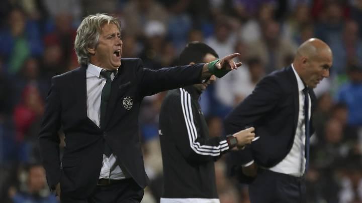 """Jorge Jesús: """"Nadie jugará como el Sporting en el Bernabéu"""""""