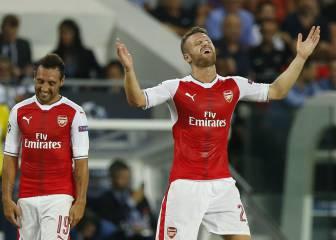 En Inglaterra se burlan del partido de Mustafi ante el PSG