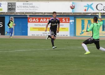 Drazic se luce en Aranda el día de la vuelta de Villar