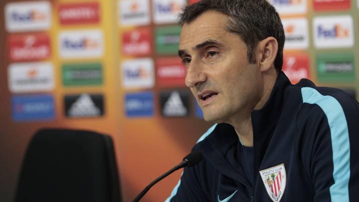 """Valverde: """"Volveremos a intentar ganar la Europa League"""""""