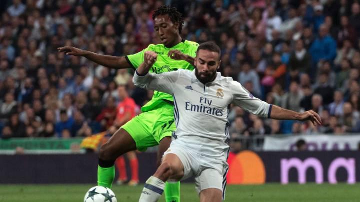 El Madrid hizo cinco kilómetros menos que el Sporting
