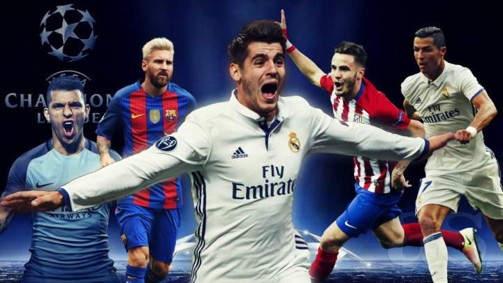Cristiano, Messi, Agüero... todos los protagonistas de Champions