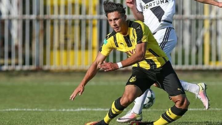 La espeluznante lesión de un juvenil del Dortmund