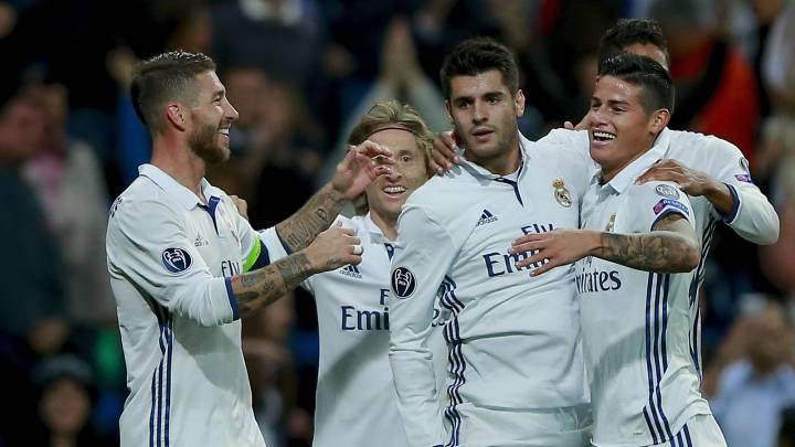 Morata, James y Lucas Vázquez: así se gestó la remontada