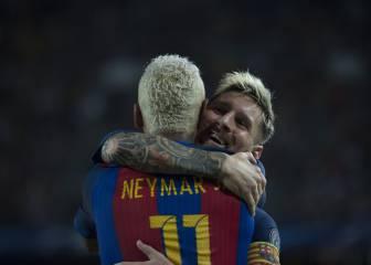 El 11 ideal de la jornada 1: Oblak, Messi, Neymar, Kun...