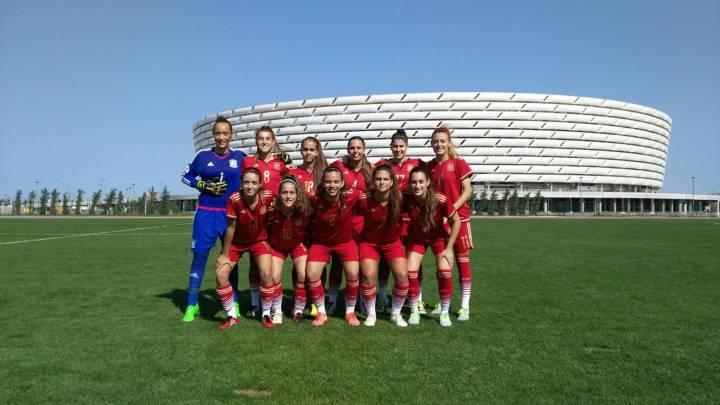 España golea sin piedad a Letonia en su estreno (18-0)