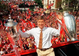 Los 15 títulos de Wenger con el Arsenal