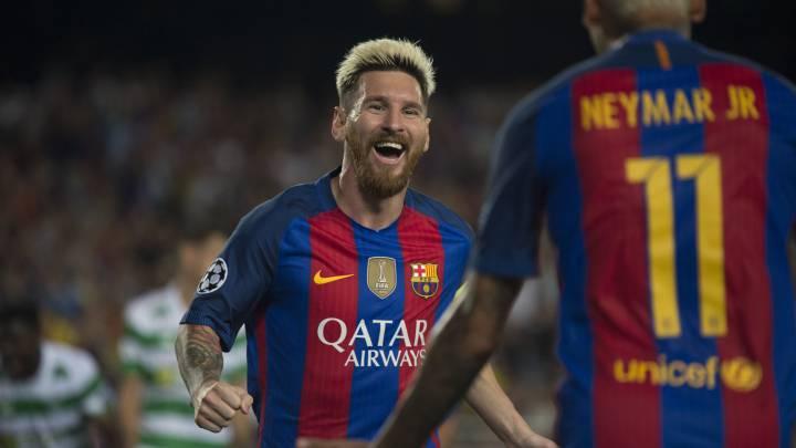 Leo Messi, mejor jugador de la primera jornada de Champions