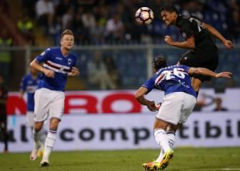 Bacca da la victoria al Milan en su visita a la Sampdoria