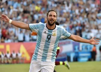 Higuaín vuelve con Argentina para jugar ante Perú y Paraguay