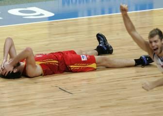 16-S: España cae en la final del Eurobasket en Madrid (2007)
