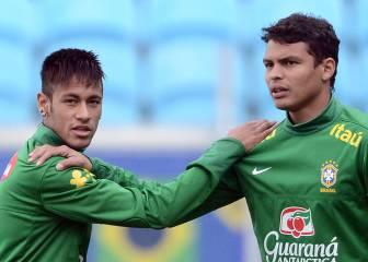 Thiago Silva es la novedad de Brasil ante Bolivia y Venezuela