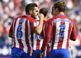 Atlético 5 - 0 Sporting: resumen, resultado y goles del partido