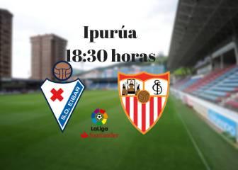 Eibar 1 - 1 Sevilla: resumen, resultado y goles del partido