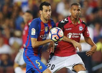 Sergio Busquets entra en la rotación y no viaja a Leganés