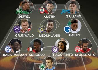 Ningún 'español' en el once de la jornada de Europa League