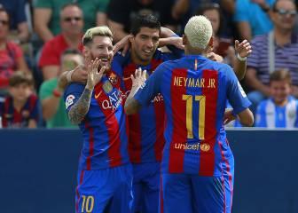 Leganés-Barcelona en imágenes